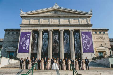 Chicago Field Museum Wedding Photos   Allison & Scott