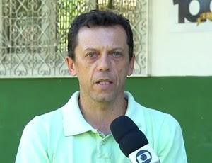 Fernando Tonet - técnico do Alecrim (Foto: Reprodução/Inter TV Cabugi)