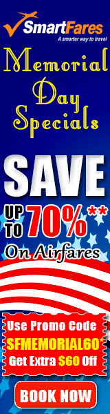 Memorial Day Airfare Deals and Discount
