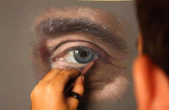 Ispanyol Sanatçı Pastel Boya Ile Harikalar Yarattı