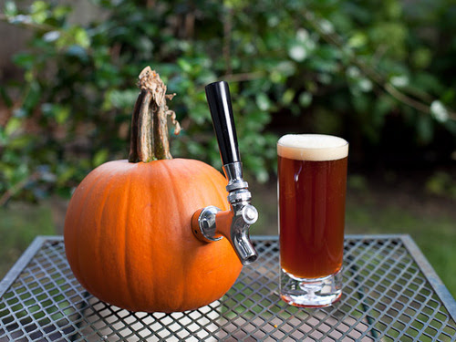 Carving pumpkins work better to serve out of than as an ingredient.