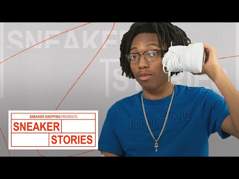 Lil Tecca Shows Off His Favorite Sneakers, Talks Off Whites and Nike Mags On 'Complex Sneaker Stories'
