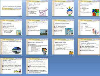 First Day of School Science Open House Smartboard Notebook Lesson Plan