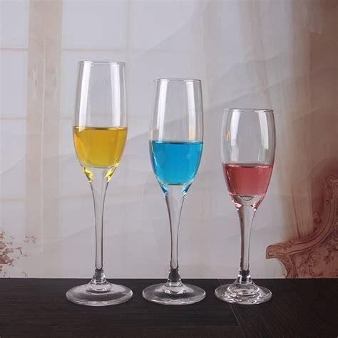 China cheap 5 oz wedding glass champagne flutes wholesale