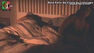 Dina Felix da Costa sensual na novela Amar depois Amar