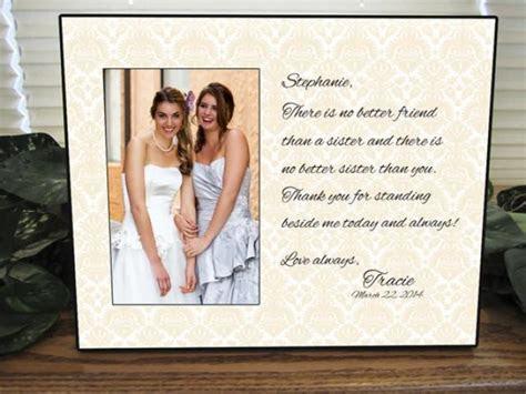 Sister Gift, Bridesmaid Gift   Sisters Wedding Gift