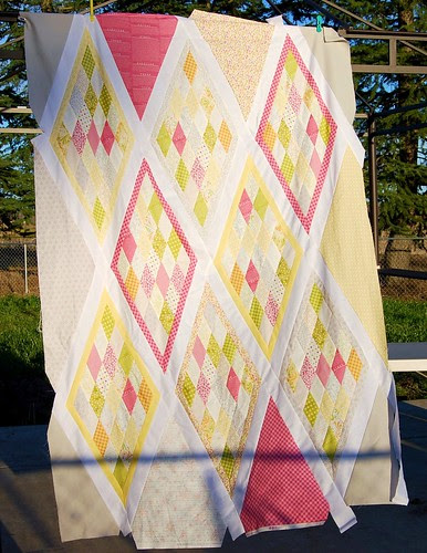 Libby's (almost) quilt top