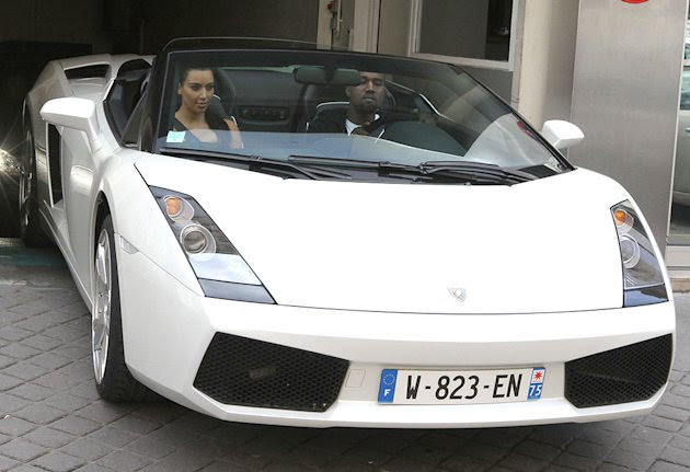 Kim Kardashian and Kanye West …