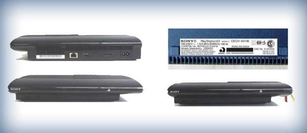 Novo modelo do PS3 vaza na rede (Foto: Reprodução)
