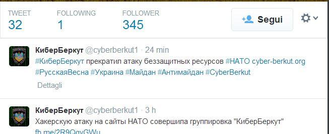 Tweet NAto Attack crimea