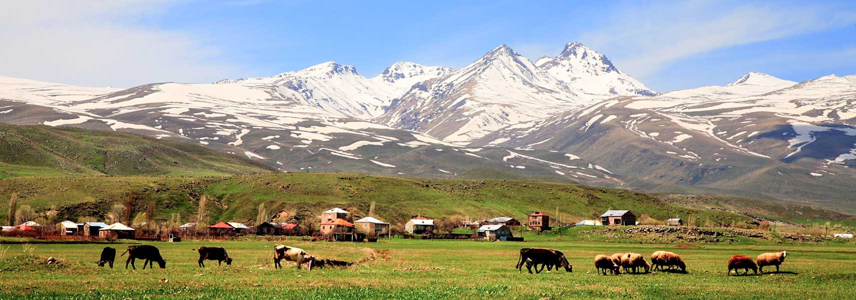 Aragats mountain Armenia