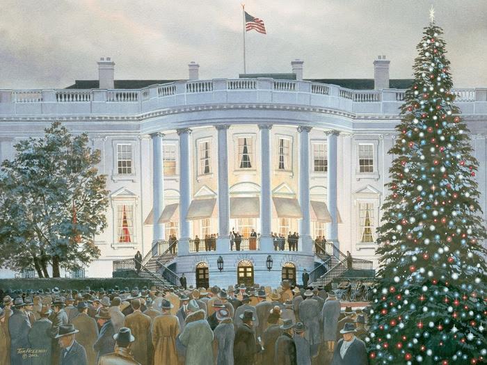 """Результат пошуку зображень за запитом """"елка в белом доме"""""""