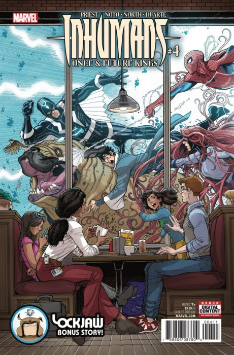 Inhumans - Once and Future Kings #4