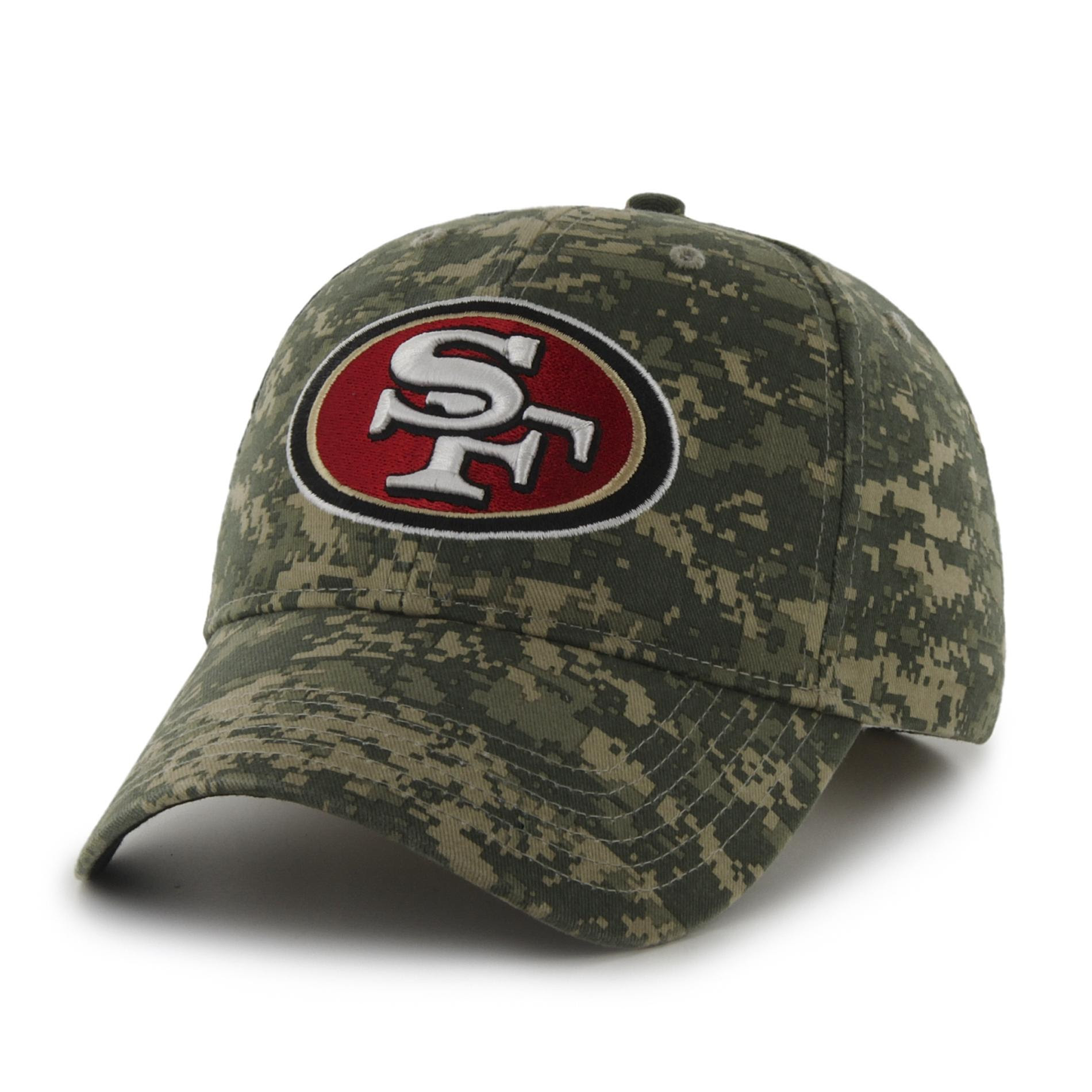 NFL Mens Camo Baseball Hat  San Francisco 49ers  Shop Your Way: Online Shopping  Earn Points