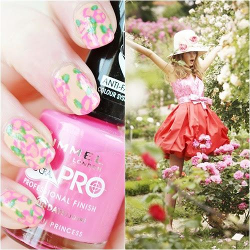 Floral-nail-art