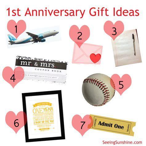 1st Year Anniversary Gift Ideas Boyfriend   Gift Ftempo