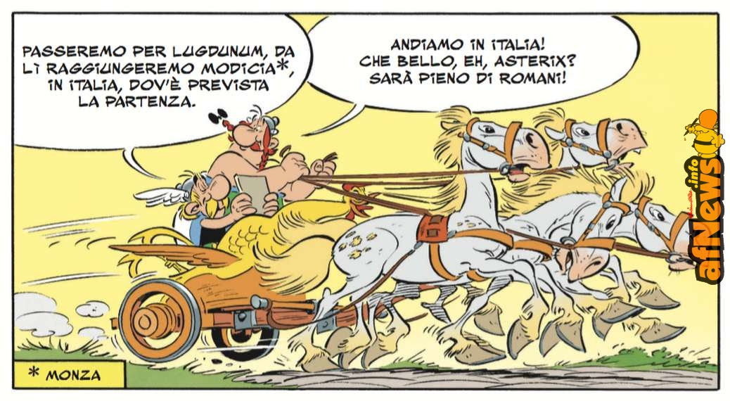 Asterix in Italia è una questione Ministeriale e di orgoglio Nazionale!