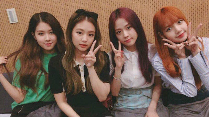 Black Pink's initial group name was weird | SBS PopAsia
