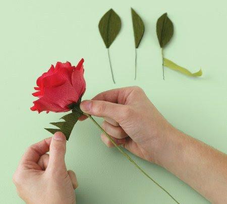 tomado de la web - Hacer Rosas De Papel
