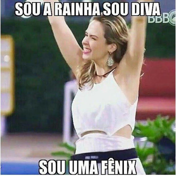 Desclassificação de Ana Paula vira piada em redes sociais (Foto: Instagram / Reprodução)