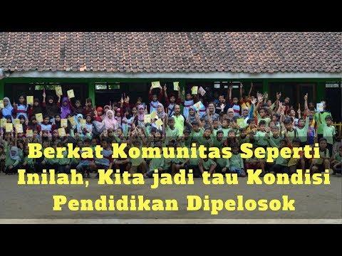 Komunitas Ini Menguak Kondisi Pendidikan di Pelosok