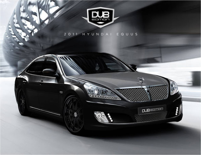 Thread: 2011 Hyundai Equus DUB Edition To Debut At SEMA