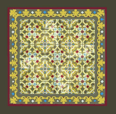 Mix and Match Border Patterns that Compliment the Field Tile