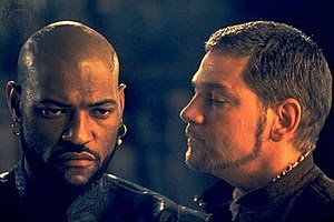 Laurence Fishburne and Kenneth Branagh as Othe...