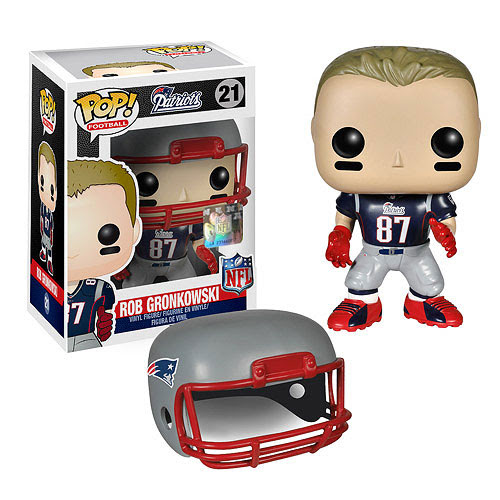 NFL Rob Gronkowski Wave 1 Pop! Vinyl Figure Funko Sports: Football Pop! Vinyl Figures at
