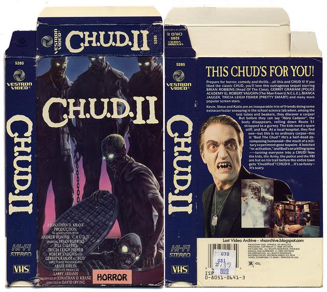 C.h.u.d. 2 (VHS box cover)