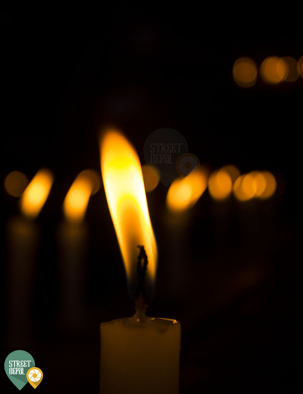 CANDLE LIGHT FOR THE DECEASED - Street Nepal