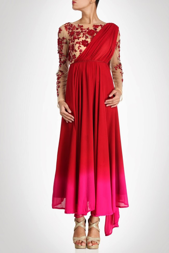 Beautiful-Bridal-Wedding-Lehanga-Choli-Saree-Anarkali-Churidar-New-Fashion-Dress-by-Designer-Surily-Goel-4