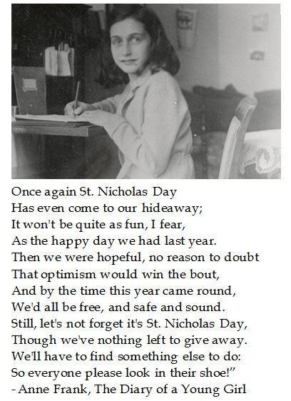 Ann Frank St. Nicholas