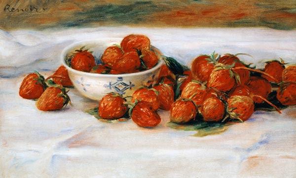 Pierre-Auguste Renoir - Strawberries