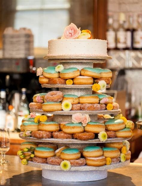 Mouthwatering Ways to Display Doughnuts At A Wedding: A
