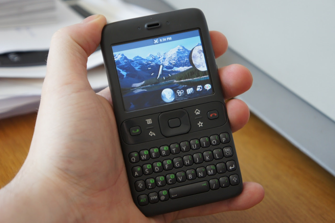 2007's pre-M3 version of Android; the Google Sooner - 9to5Google