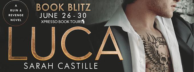 Book Blitz: Luca   Sarah Castille