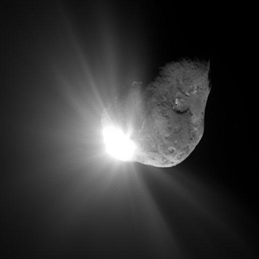 Deep Impact on Comet Tempel 1