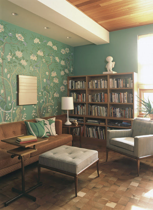 library jade green interior design home photo inspiration