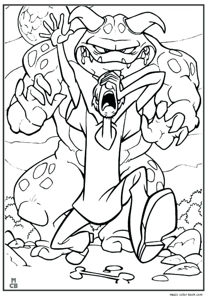 Scooby Doo Halloween Coloring Pages at GetColorings.com ...
