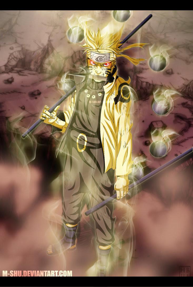 85 Gambar Naruto Mode Rikudou Paling Keren