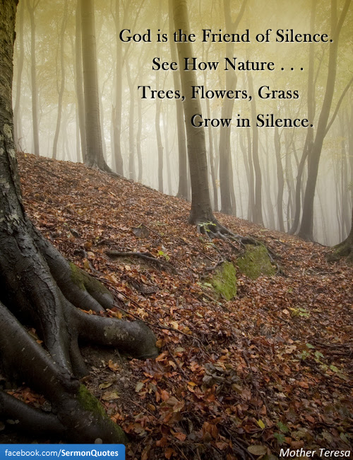 God Is The Friend Of Silence Sermonquotes
