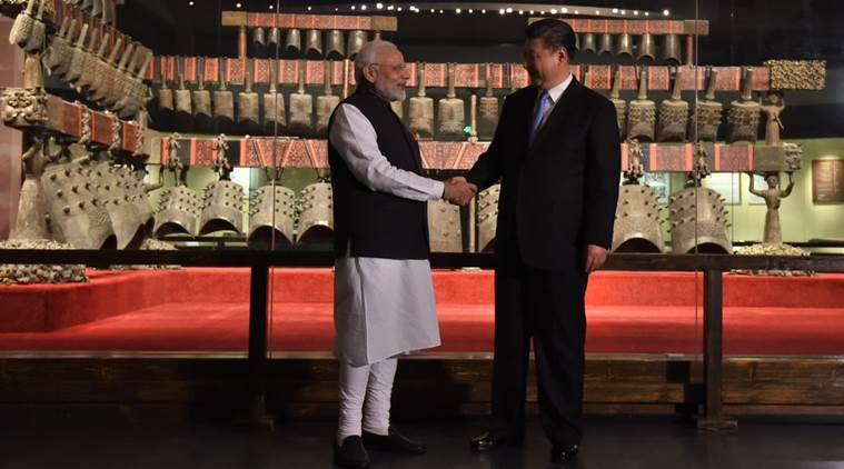 Modi in China: PM Modi tells President Xi that he will be happy to host the next informal summit in India in 2019