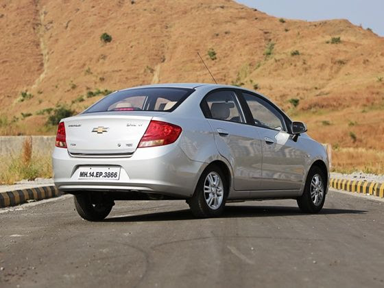 Chevrolet Sail facelift review rear
