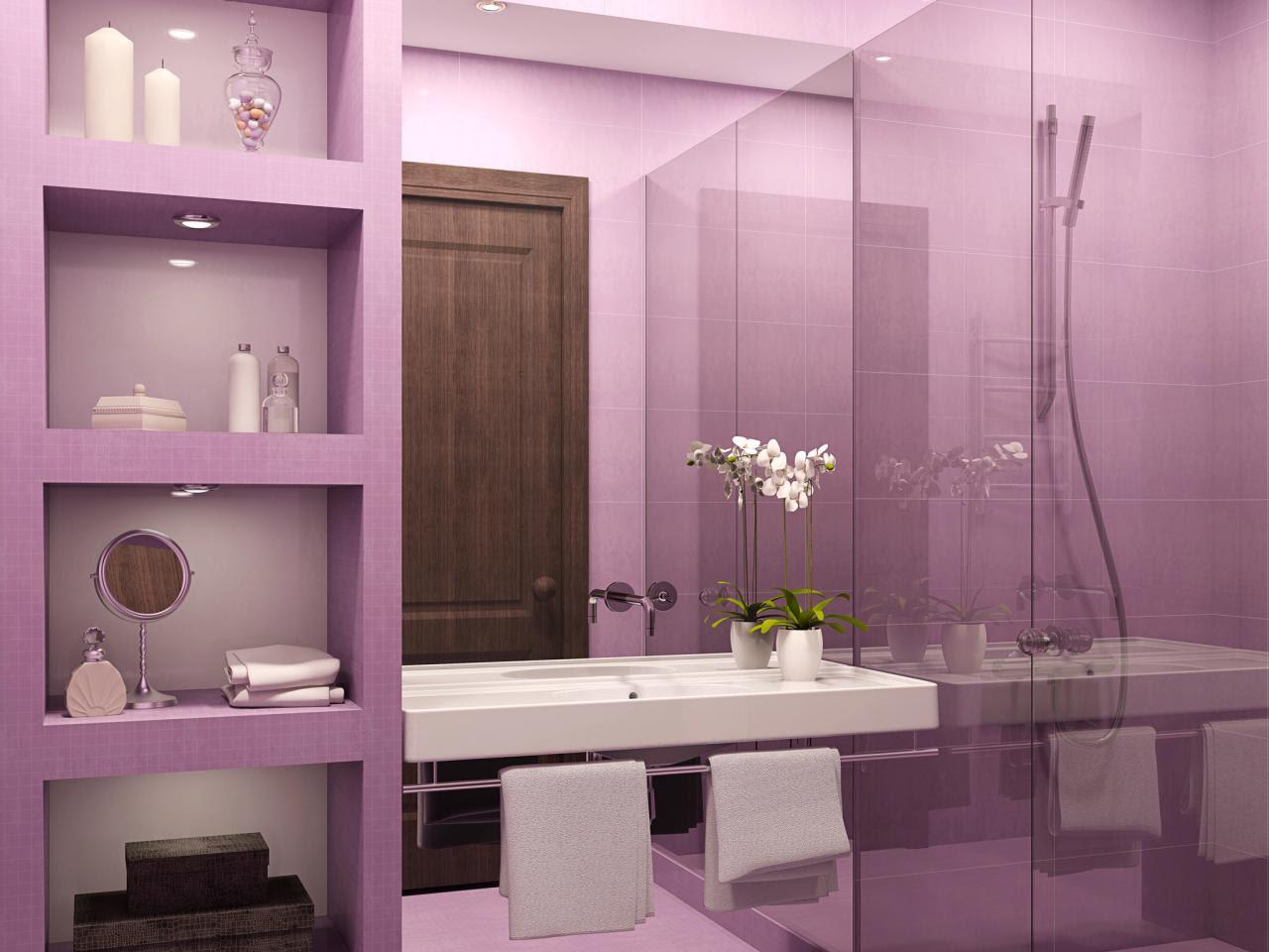 Purple Bathroom Decor: Pictures, Ideas & Tips From HGTV | HGTV