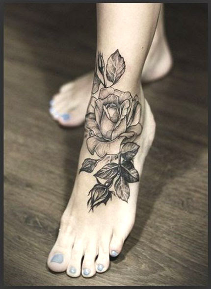 Realistic Rose Tattoo Designs More Than A Floral Clip Art Library