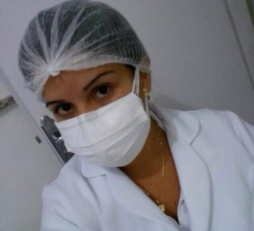 Enfermeira que teve fotos nuas divulgadas reage e diz que agora mesmo é que vai incomodar as 'barangas'