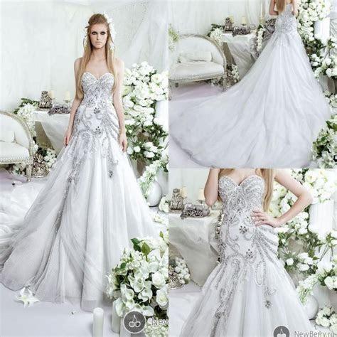 Glamour Luxury 2015 Dar Sara Wedding Dresses Beaded
