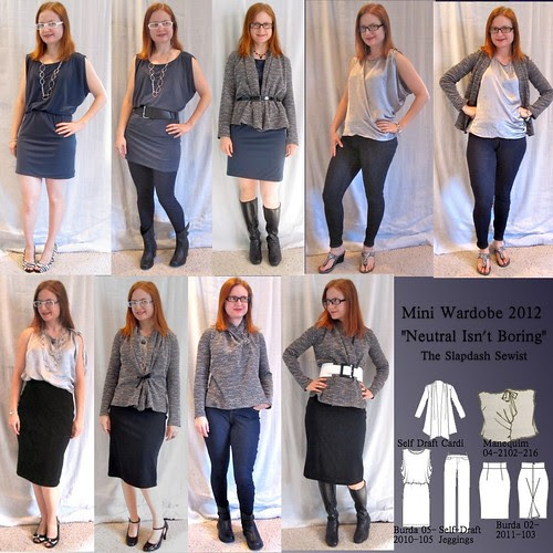 Mini Wardrobe Contest 2012
