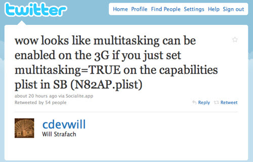 Twitter / Will Strafach: wow looks like multitaskin ...